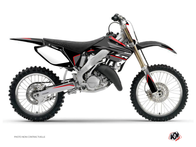 Honda 250 CR Dirt Bike Dyna Graphic Kit Black