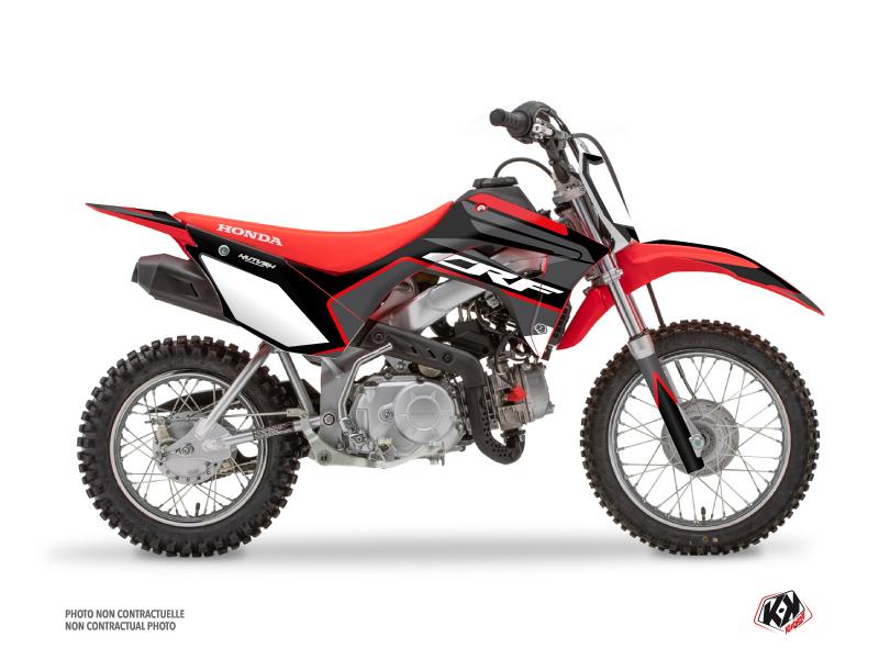 Honda 110F CRF Dirt Bike Dyna Graphic Kit Black