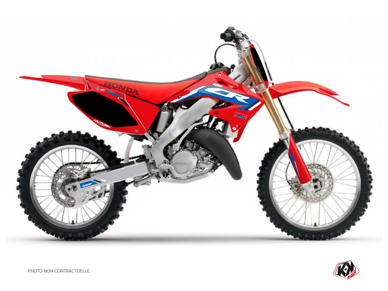 Honda 125 CR Dirt Bike Works Graphic Kit Blue