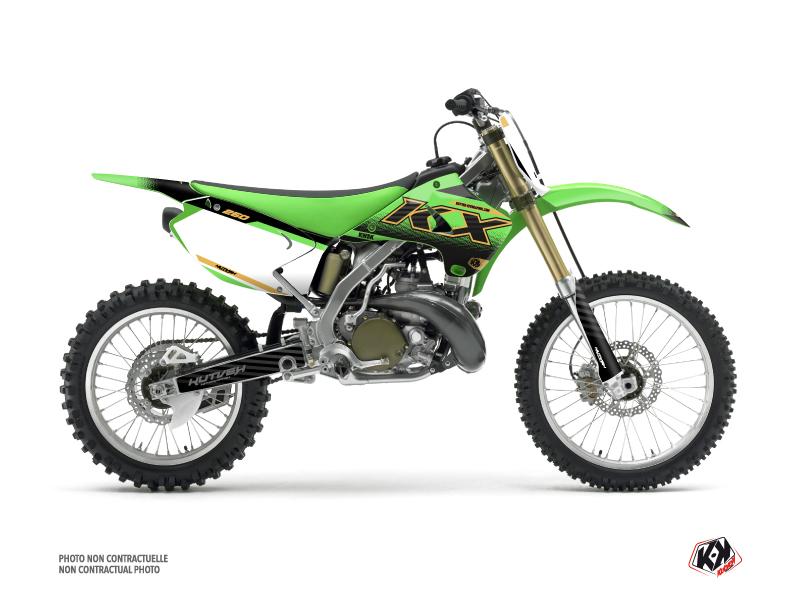 Kit Déco Moto Cross Live Kawasaki 250 KX Gold