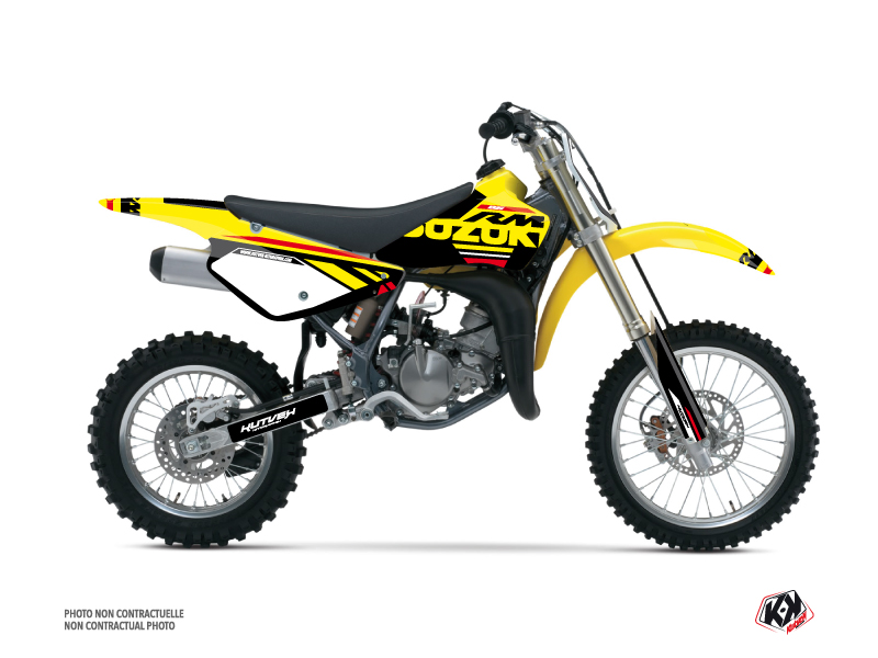 Kit Déco Moto Cross Grade Suzuki 85 RM Rouge