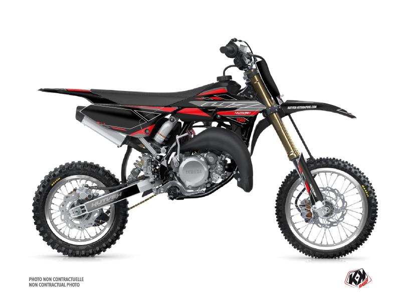 Yamaha 65 YZ Dirt Bike Outline Graphic Kit Red