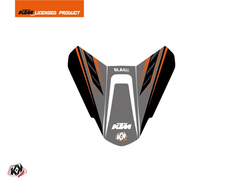 Kit Déco Capot de Selle Moto Slash KTM Noir Orange