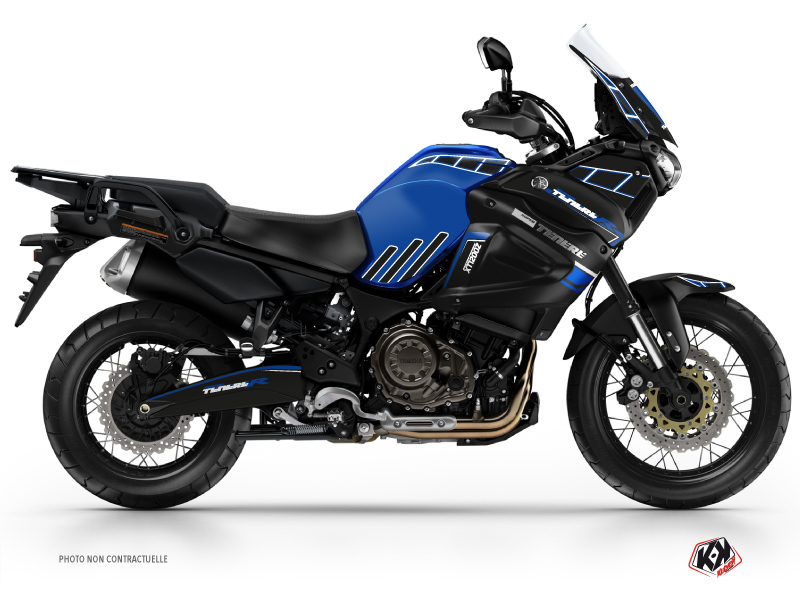 Yamaha XTZ 1200 Super TENERE Street Bike Adventure Graphic Kit Blue