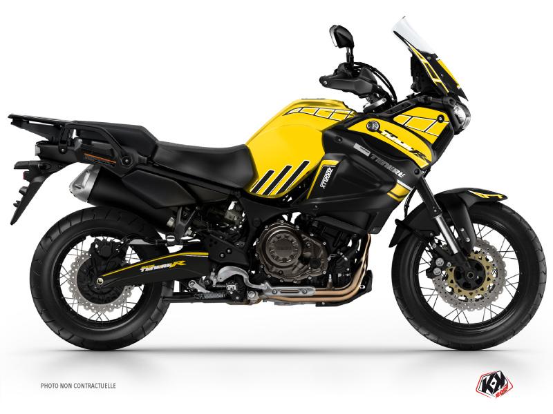 Yamaha XTZ 1200 Super TENERE Street Bike Adventure Graphic Kit Yellow