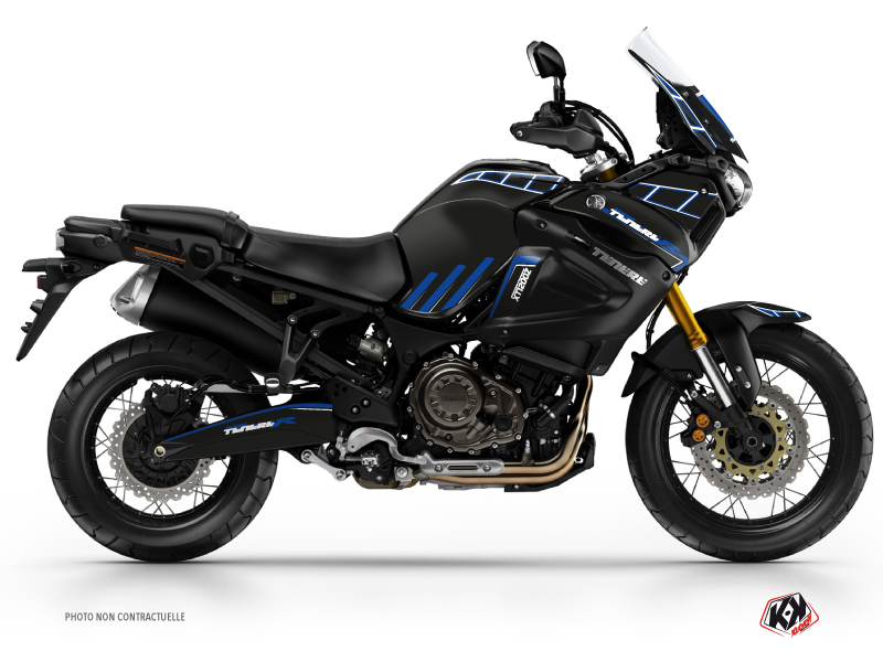 Yamaha XTZ 1200 Super TENERE Street Bike Adventure Graphic Kit Black Blue