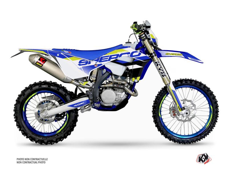 Sherco SE / SEF Dirt Bike Aktiv Graphic Kit Blue