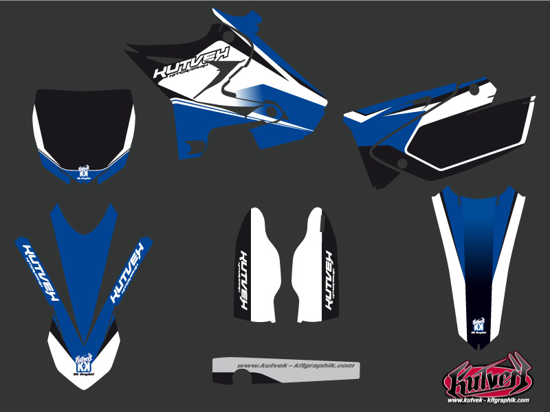 Yamaha 250 YZ Dirt Bike Assault Graphic kit UFO Relift