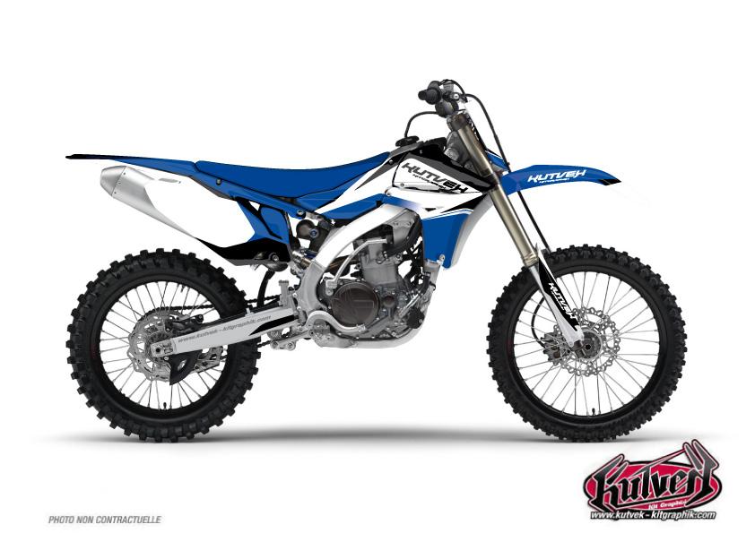 Yamaha 125 YZ Dirt Bike Assault Graphic kit UFO Relift
