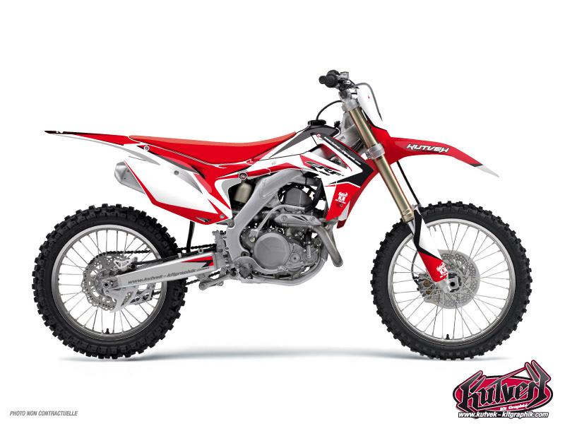 Honda 85 CR Dirt Bike Assault Graphic Kit