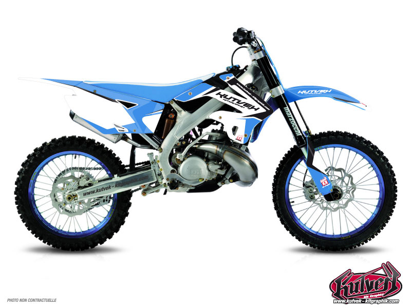 TM MX 125 Dirt Bike Assault Graphic Kit