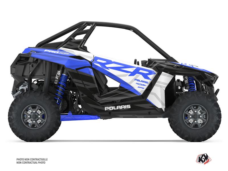 Polaris RZR PRO XP UTV Baja Graphic Kit Blue