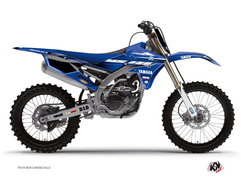 Kit Déco Moto Cross Basik Yamaha 250 YZF Bleu