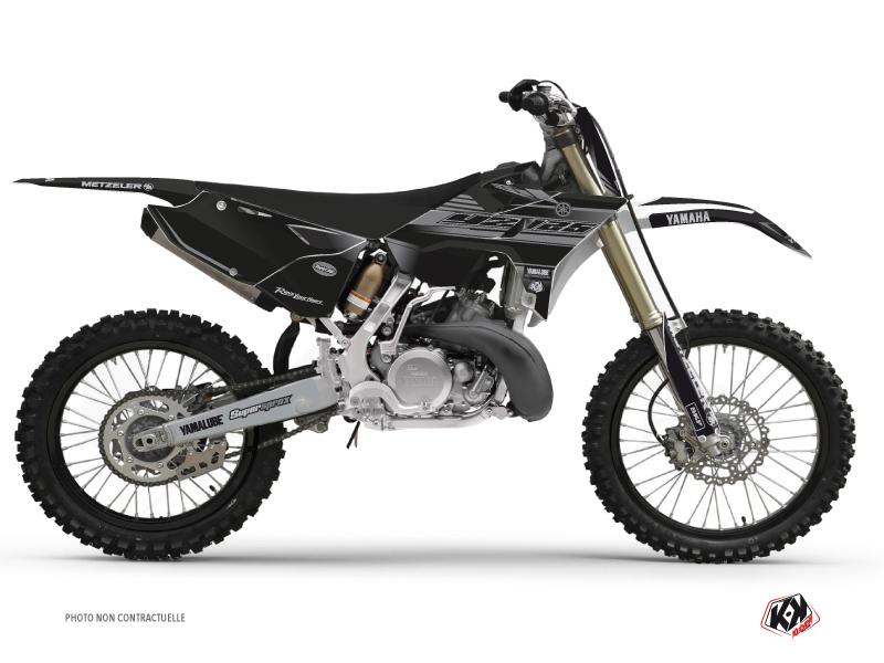 Kit Deco Dirt Bike Black Matte Yamaha 125 YZ RTECH Revolution Black