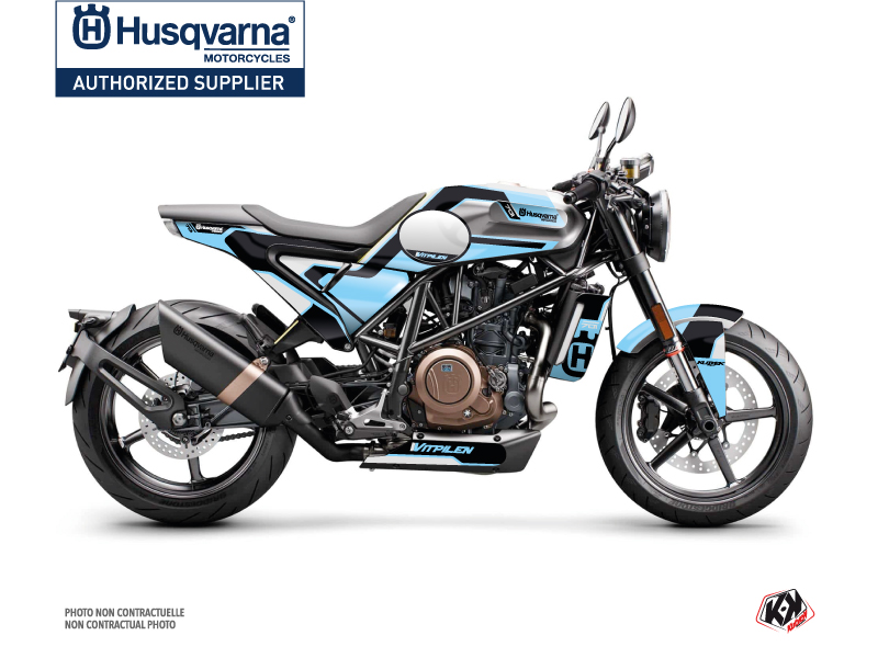 Husqvarna Vitpilen 701 Street Bike Bobber Graphic Kit Blue