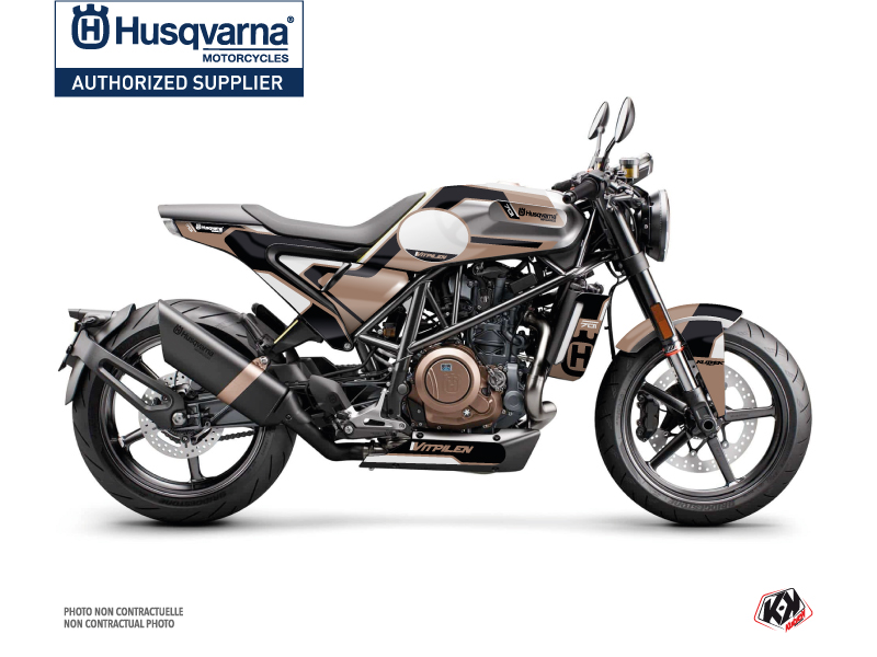 Husqvarna Vitpilen 701 Street Bike Bobber Graphic Kit Brown