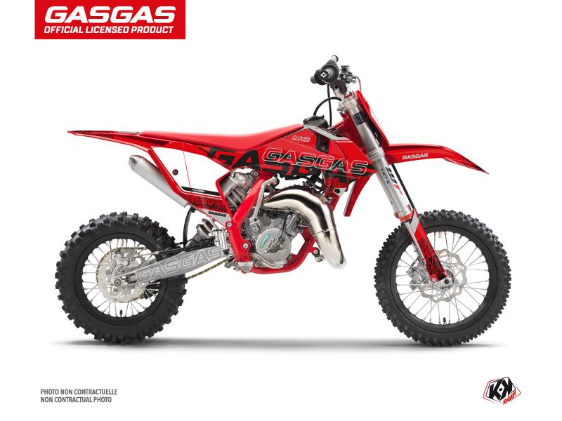 GASGAS MC 65 Dirt Bike Border Graphic Kit Black
