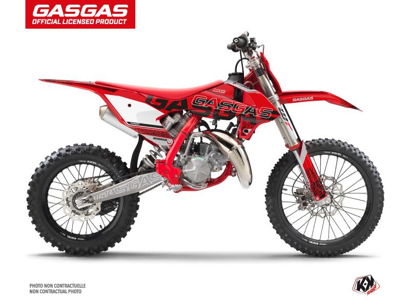 GASGAS MC 85 Dirt Bike Border Graphic Kit Black