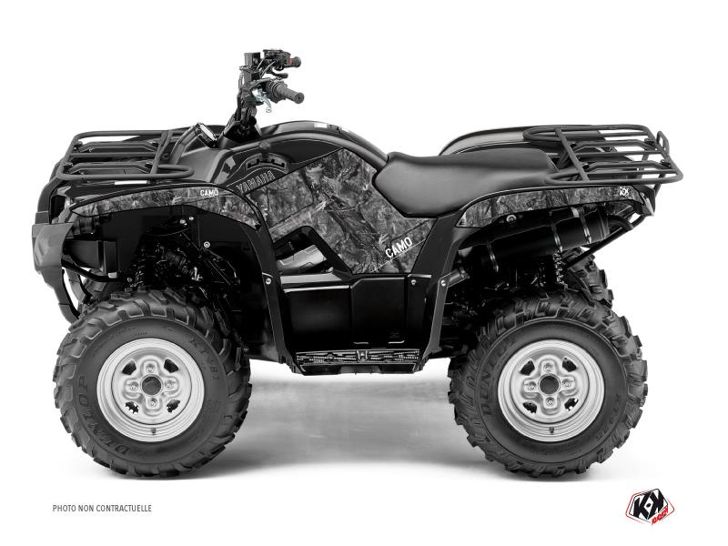 Yamaha 125 Grizzly ATV Camo Graphic Kit Grey