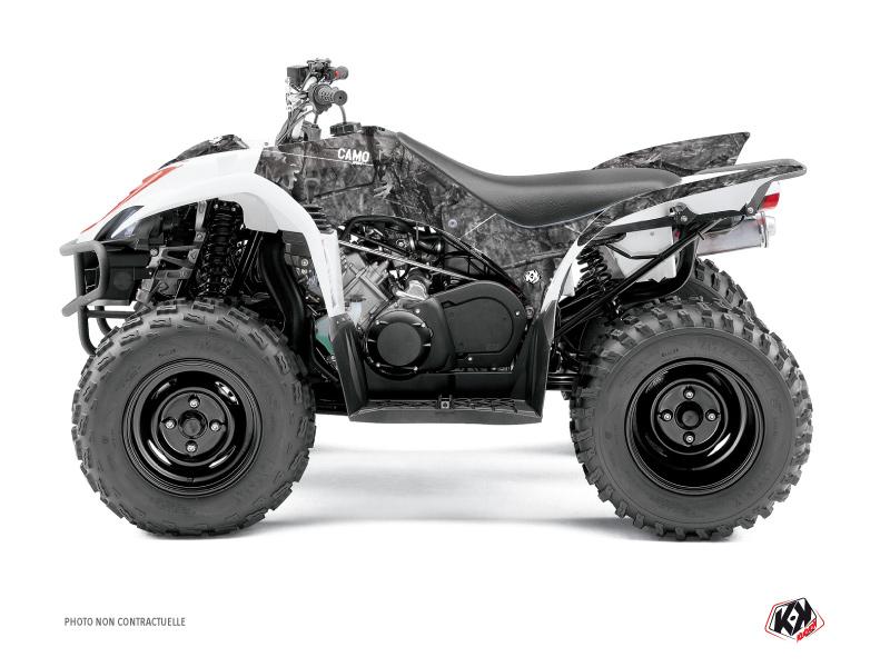 Yamaha 350-450 Wolverine ATV Camo Graphic Kit Grey