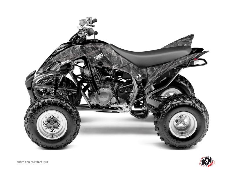 Yamaha 350 Raptor ATV Camo Graphic Kit Grey
