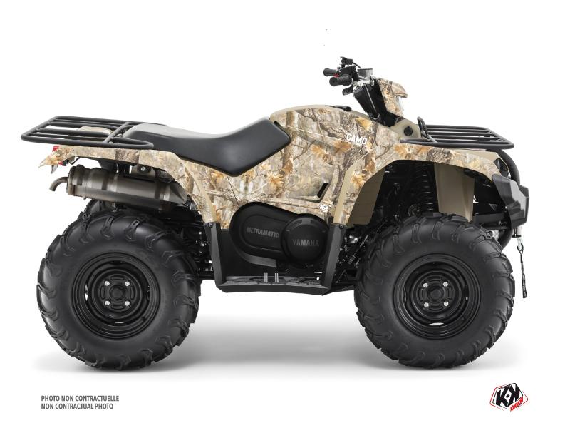 Yamaha 450 Kodiak ATV Camo Graphic Kit Sand