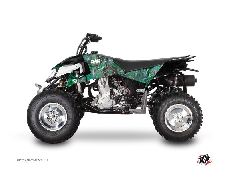 Polaris Outlaw 450 ATV Camo Graphic Kit Green