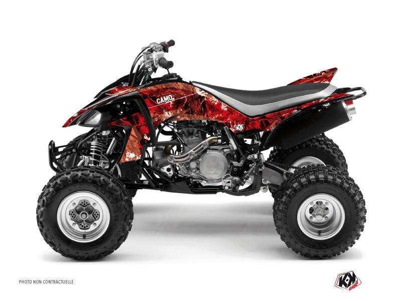 Kit Déco Quad Camo Yamaha 450 YFZ Rouge