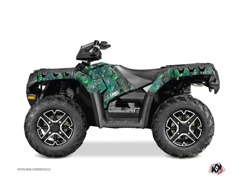 Polaris 1000 Sportsman Forest ATV Camo Graphic Kit Green