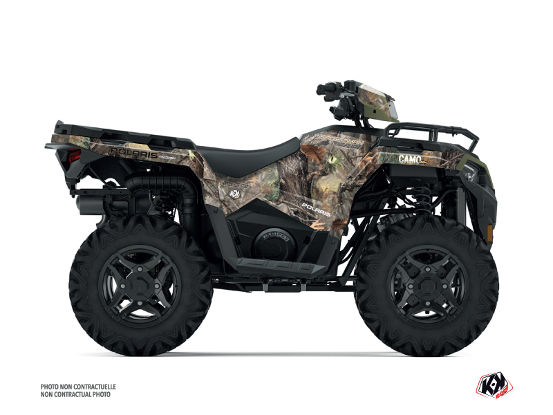 Polaris 570 Sportsman Forest ATV Camo Graphic Kit Colors