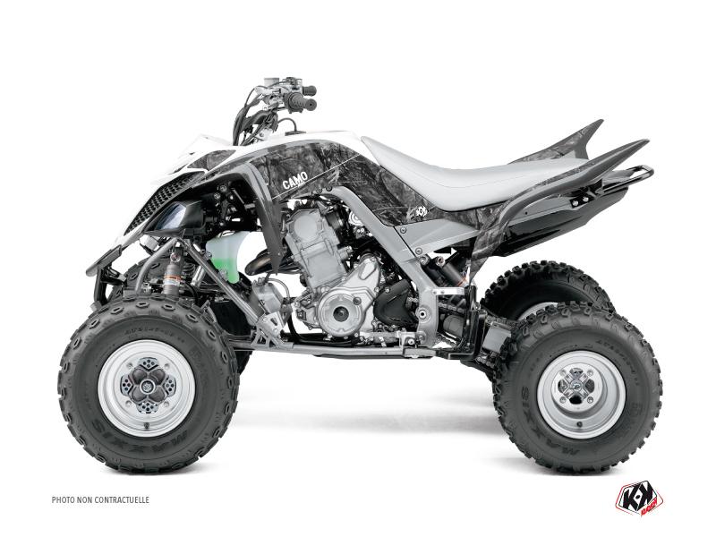Yamaha 660 Raptor ATV Camo Graphic Kit Grey