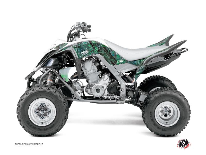 Yamaha 660 Raptor ATV Camo Graphic Kit Green