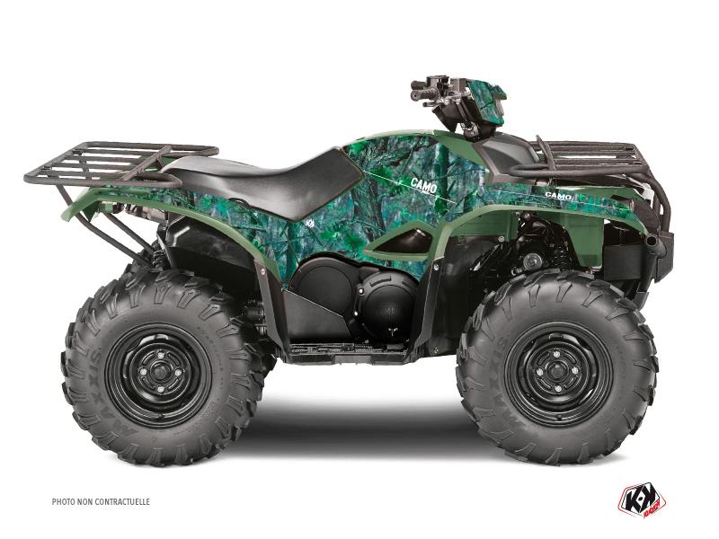 Kit Déco Quad Camo Yamaha 700-708 Kodiak Vert