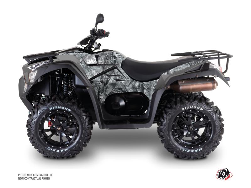 Kymco 700 MXU ATV Camo Graphic Kit Grey