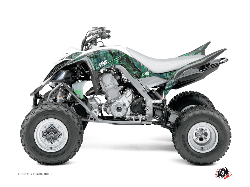 Yamaha 700 Raptor ATV Camo Graphic Kit Green
