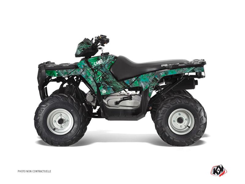 Polaris 90 Sportsman ATV Camo Graphic Kit Green