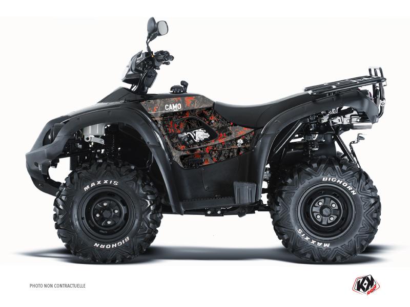 TGB Blade ATV Camo Graphic Kit Black Red