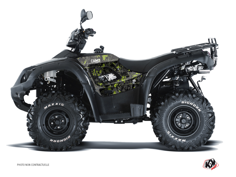 TGB Blade ATV Camo Graphic Kit Black Green