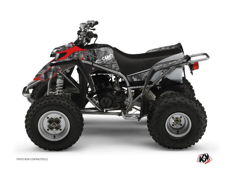 Yamaha Blaster ATV Camo Graphic Kit Grey