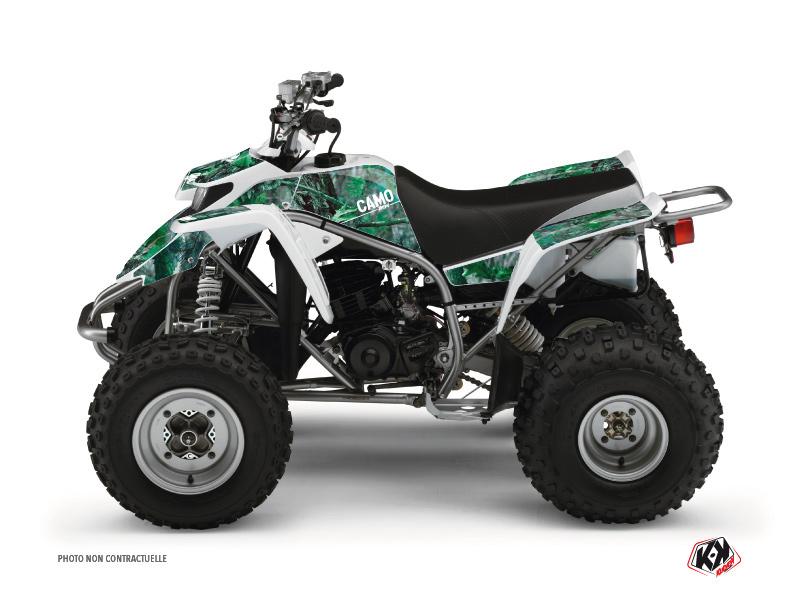 Yamaha Blaster ATV Camo Graphic Kit Green