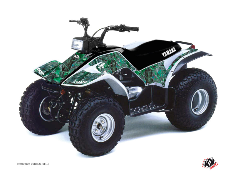 Yamaha Breeze ATV Camo Graphic Kit Green