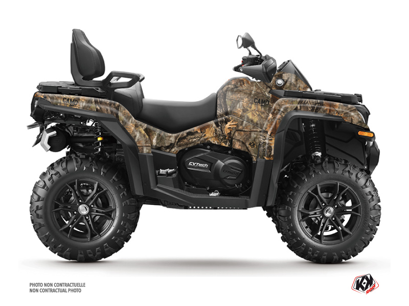 CF MOTO CFORCE 1000 ATV Camo Graphic Kit Colors