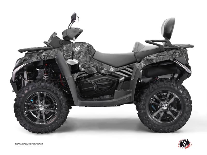 CF MOTO CFORCE 800 S ATV Camo Graphic Kit Grey