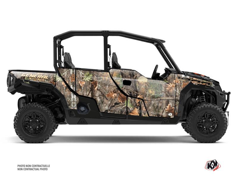 Polaris GENERAL 1000 4 doors UTV Camo Graphic Kit Colors