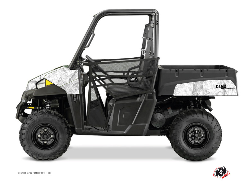 Polaris Ranger 570 UTV Camo Graphic Kit White