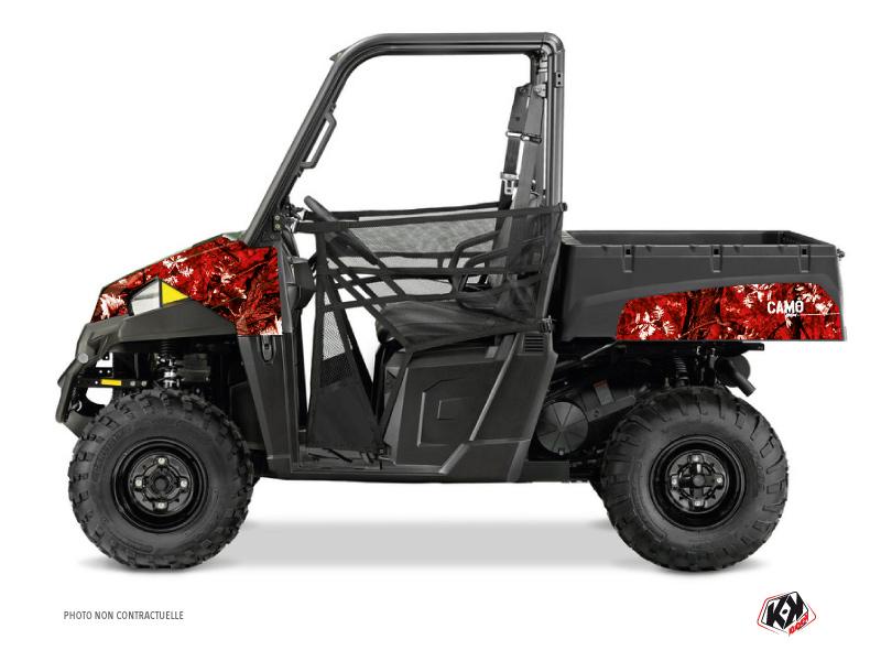 Polaris Ranger 570 UTV Camo Graphic Kit Red