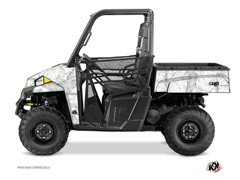 Polaris Ranger 900 XP UTV Camo Graphic Kit White