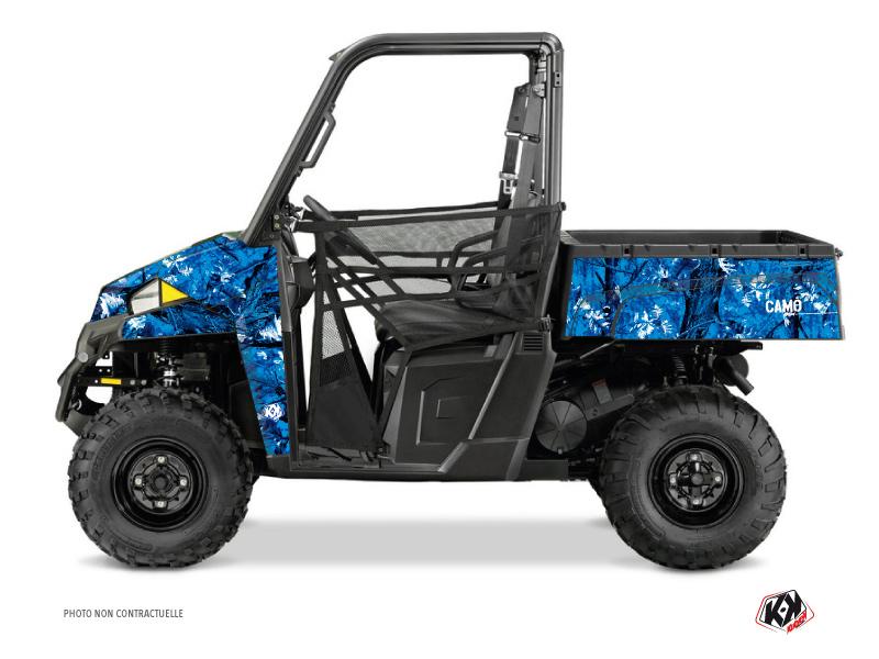 Polaris Ranger 900 XP UTV Camo Graphic Kit Blue