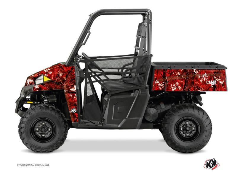 Polaris Ranger 900 XP UTV Camo Graphic Kit Red