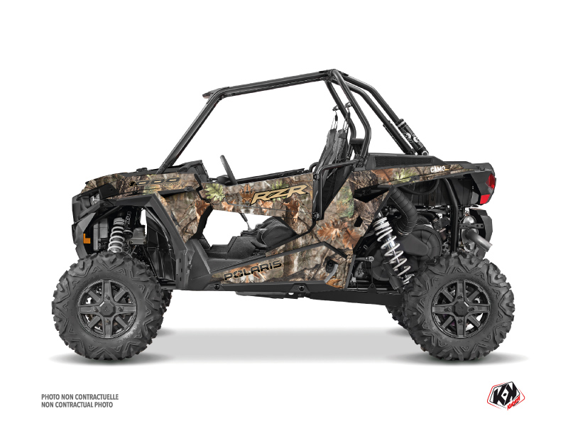 Polaris RZR 1000 UTV Camo Graphic Kit Colors